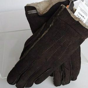 Hugo Boss 9  Lambskin Lined Gloves